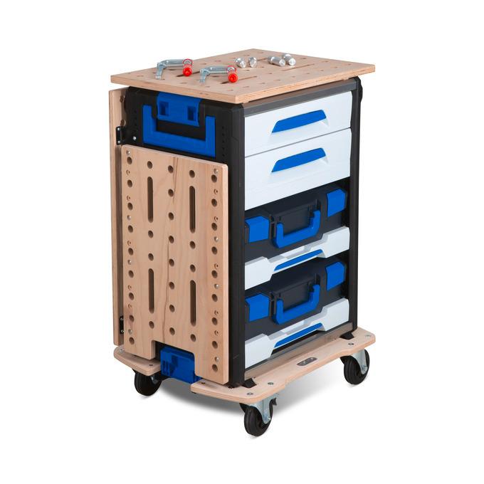 Die mobile Arbeitsstation WorkMo  für Werkstatt und Baustelle!